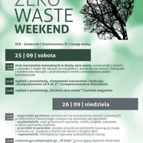 Zero Waste Weekend w SCK-Zameczek